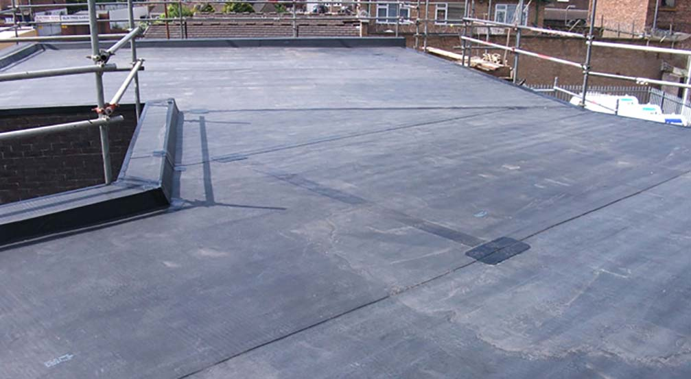 Rubber Roofing West Bromwich Middlebrook Property