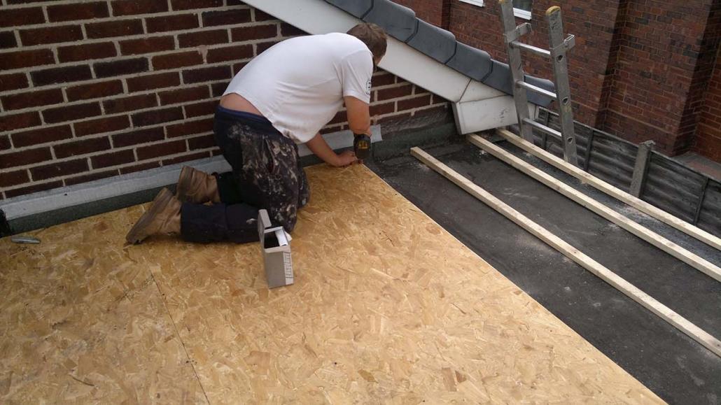 EPDM Rubber Roofing Clayhanger Brownhills