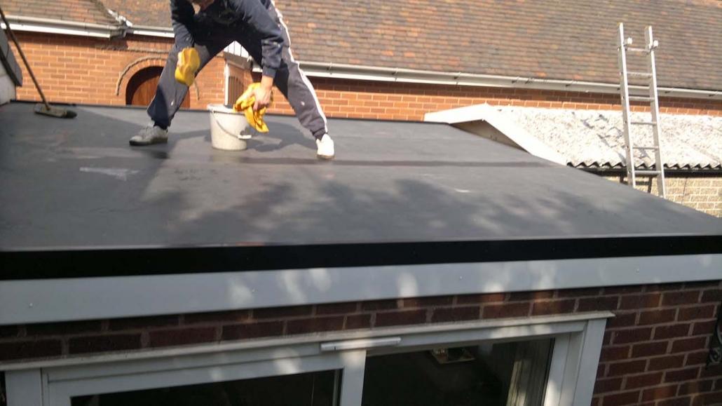 EPDM Rubber Roofing Shelfield Walsall