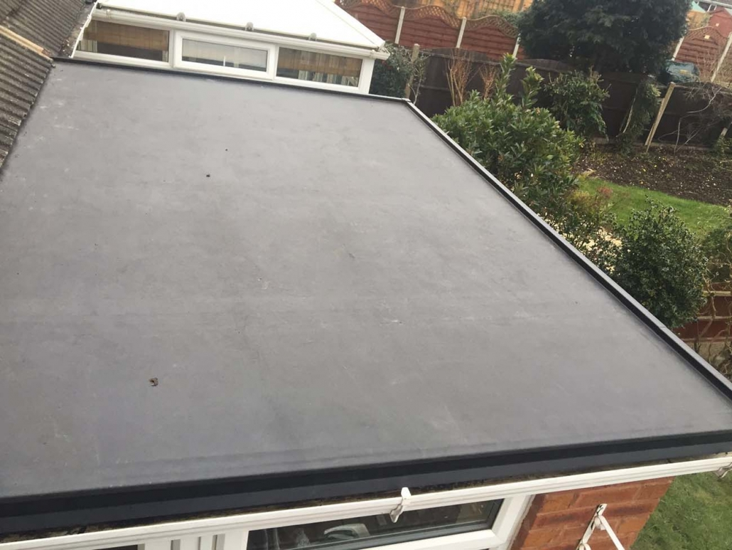 EPDM Rubber Roofing Stonnall West Midlands