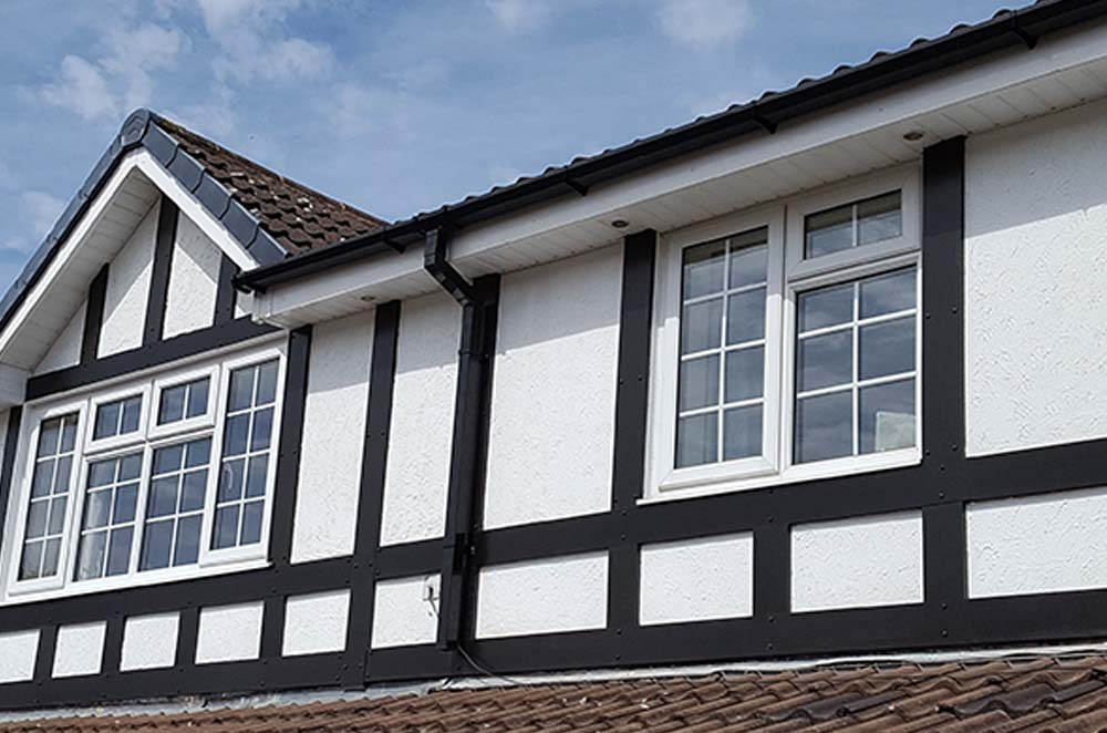 upvc Cladding & Tudor Boards in Aldridge, Walsall and West Midlands