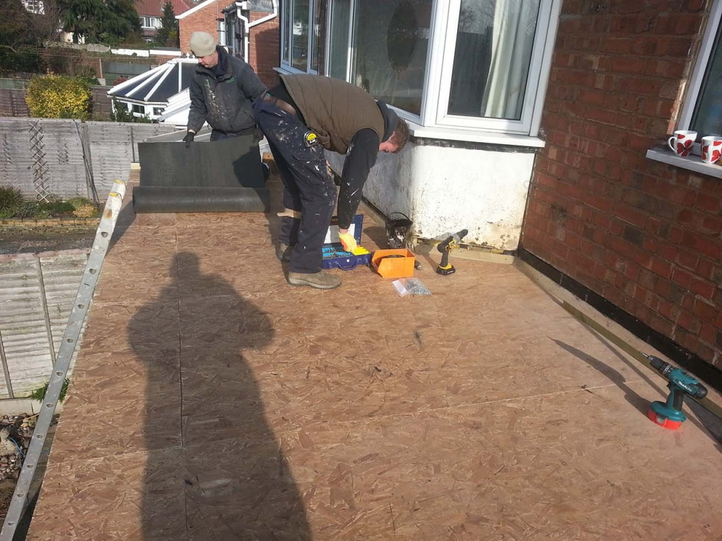 Flat roof installations in Little Aston, Shareshill and West Midlands