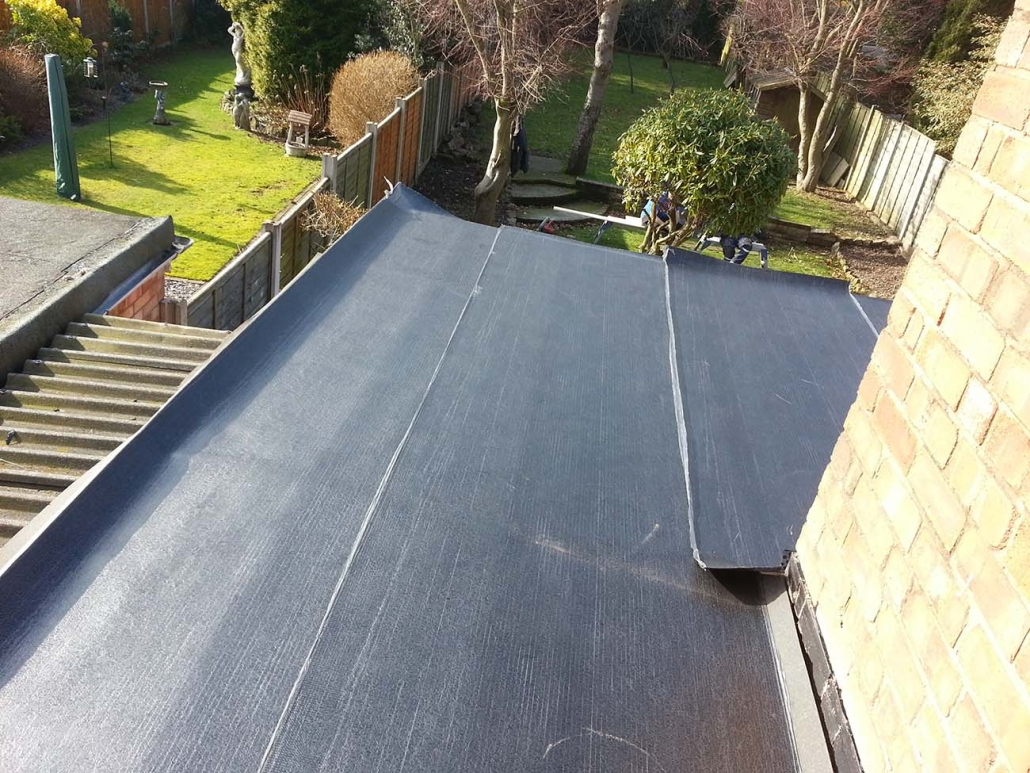 Flat roof installations in Walsall, Sutton Coldfield and West Midlands