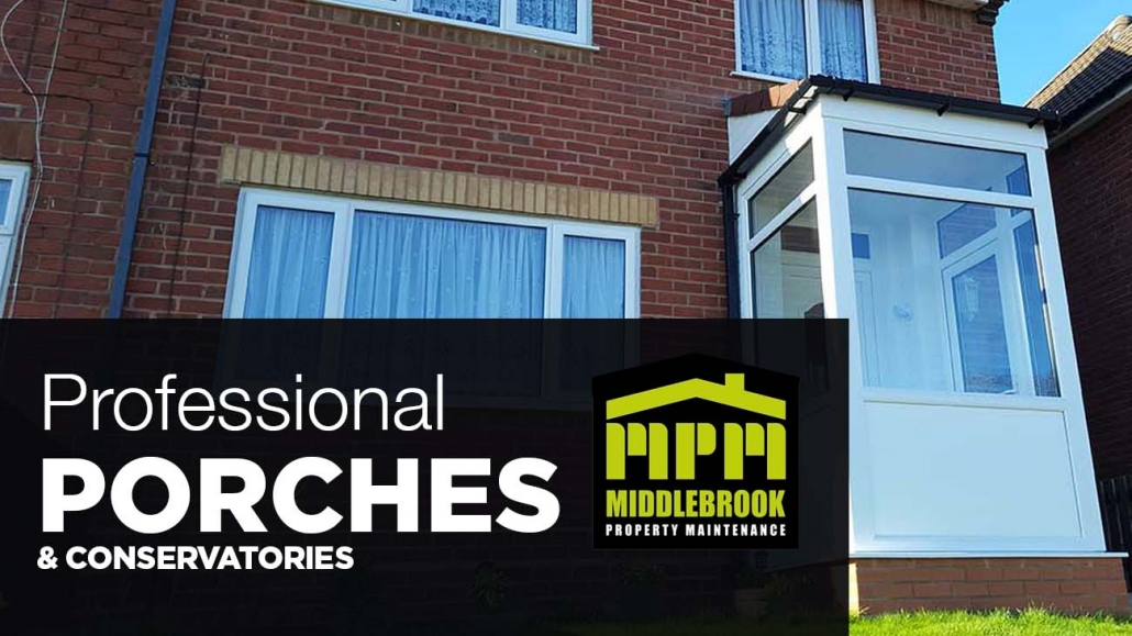 uPVC Porches installed Walsall Wood, Brownhills and West Midlands