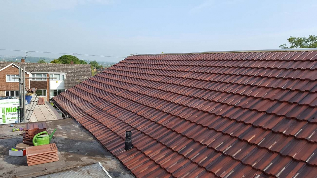 Tiled Roofing Services Walsall Wood and Midlands